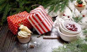 Десерты к новогоднему столу