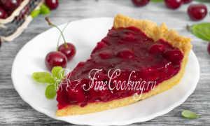 Вишнёвый пирог рецепт