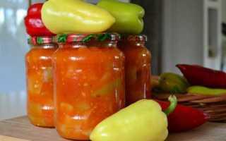 Консервирование болгарского перца на зиму рецепты
