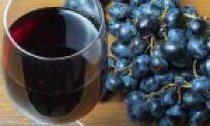 Вино из черного винограда в домашних условиях