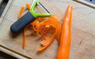 Почему темнеет морковь после чистки