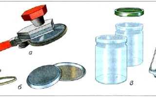 Заготовка продуктов домашнее консервирование 7 класс