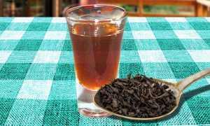 Хорошо настоянный чай