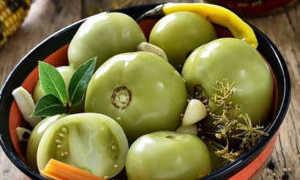 Что можно сделать из зеленых помидоров