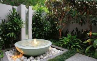 Емкость для фонтана