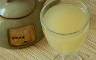 Рецепт кваса из березового сока с изюмом
