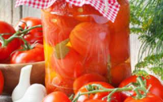 Как мариновать помидоры на зиму в банках
