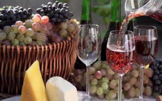 Полусладкое вино в домашних условиях из винограда
