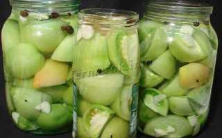 Маринад для зеленых помидоров рецепт