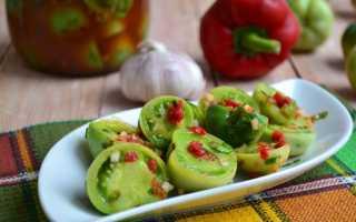 Зеленые маринованные помидоры рецепт
