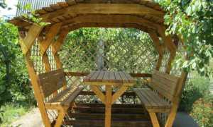 Беседки садовые деревянные фото