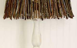Как обработать ветки для декора