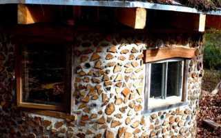 Дом из дров и цемента