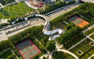 Ландшафтный дизайн парка отдыха