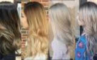 Как из тёмных волос сделать светлые