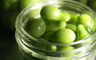 Рецепт закатки зеленых помидоров