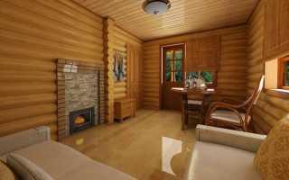 Как оформить комнату отдыха в бане