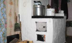 Чем побелить печь на даче
