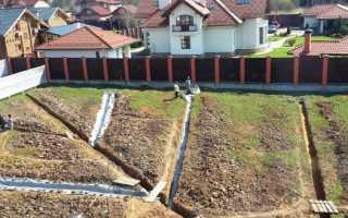 Водоотвод на даче