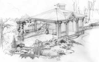 Нарисовать ландшафтный дизайн