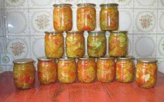 Бурые помидоры на зиму рецепты