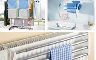 Где сушить белье в частном доме