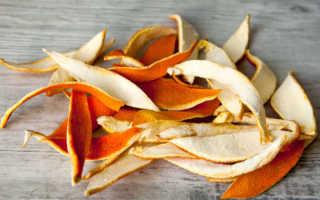 Апельсиновые шкурки