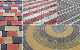 Как сделать площадку из тротуарной плитки