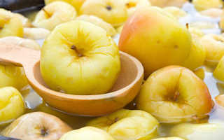 Как сделать мочёные яблоки на зиму