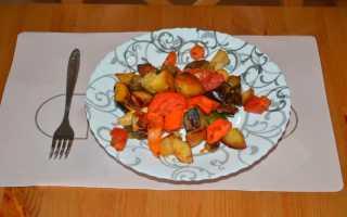 Готовим овощи в духовке