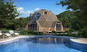Монолитный купольный дом