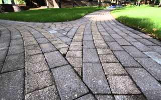 Как делается тротуарная плитка
