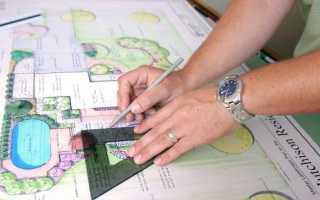 Ландшафтный дизайн чертежи