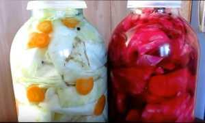 Капуста маринованная классический рецепт