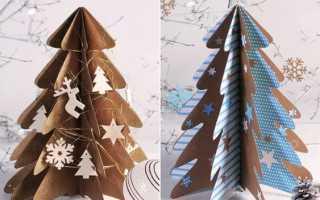 Как сделать макет елки