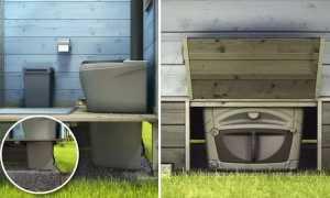 Деревенский туалет без запаха