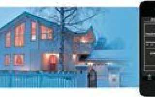 Контроль температуры загородного дома