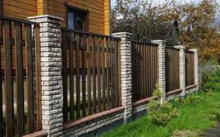 Построить забор на даче