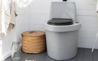 Средство для туалета на даче