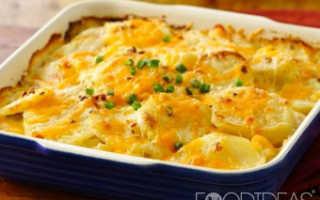Варианты приготовления картофеля