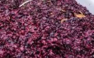 Второе вино из жмыха винограда рецепт