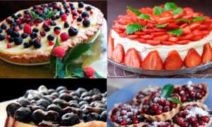 Десерт из замороженных ягод рецепт