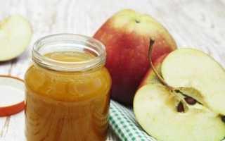Яблоки протертые с сахаром на зиму